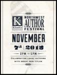 Northwest Author FestivalPoster