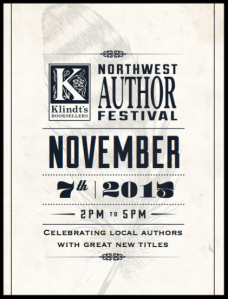 Northwest Author Festival Poster