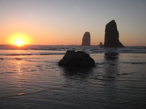 Sunset Cannon Beach 2