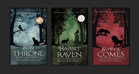 Covers for The Solas Beir Trilogy